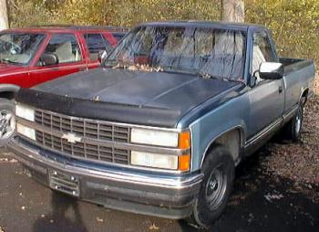 1990 Chevrolet 1500 Pickup Truck Pictures to Pin on Pinterest